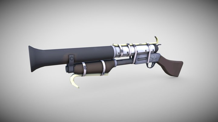 TF2_shotgun_engie 3D Model