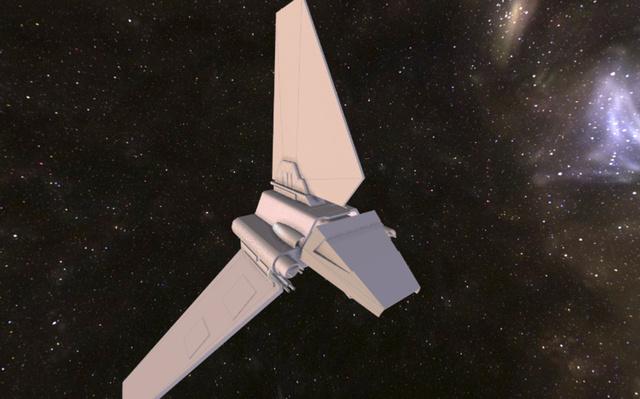 imperial shuttle 3D Model