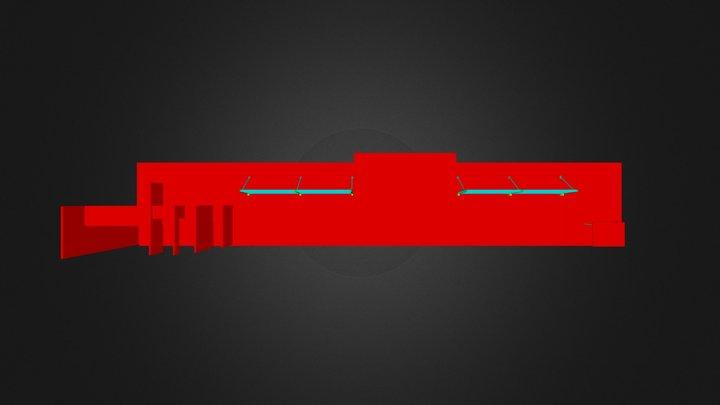 Warehouse 3G.3ds 3D Model