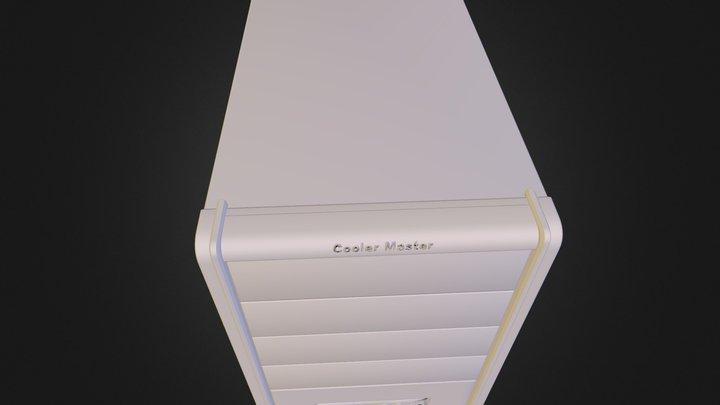 CoolerMaster PC tower.obj 3D Model