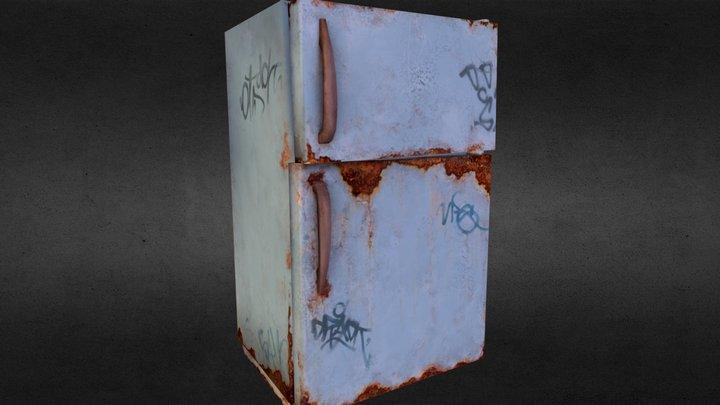 old fridge 3D Model