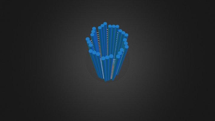 Centríolo.3ds 3D Model