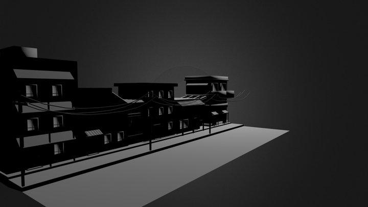 street.blend 3D Model