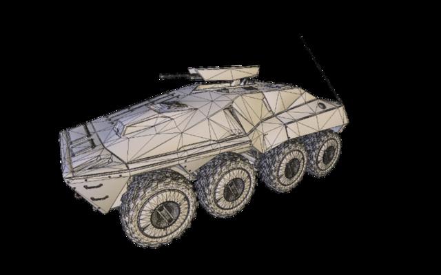 Hammer LAV 3D Model