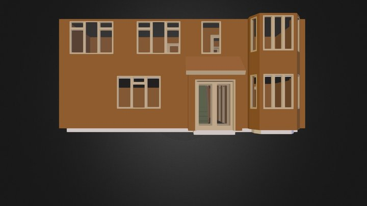 Raz house 2.3ds 3D Model