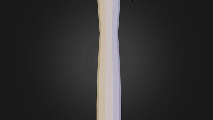 blacksmithHammer.obj 3D Model