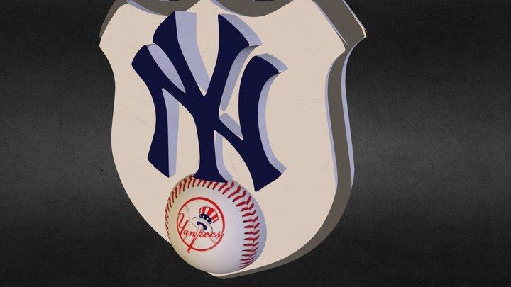 NYC Yankees 3D Model