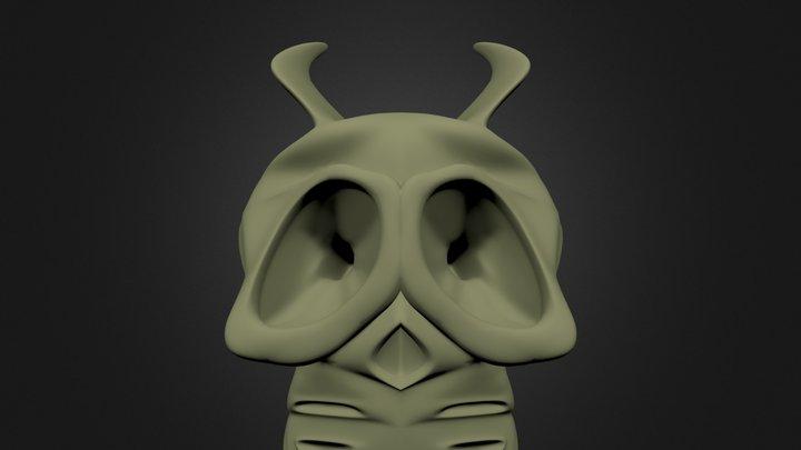 ETskull.blend 3D Model