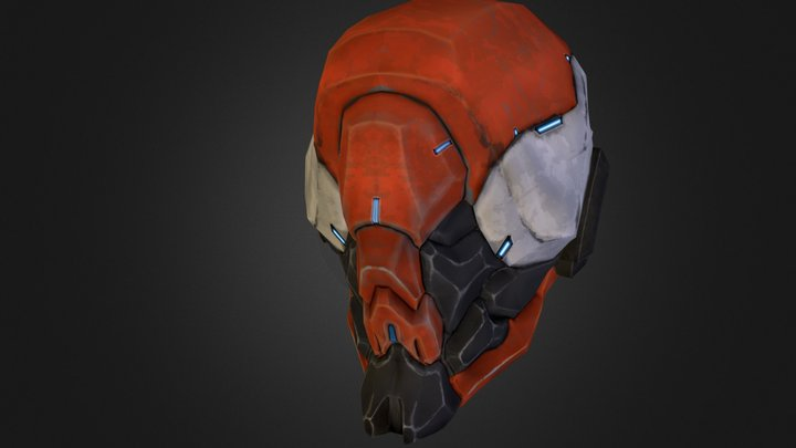 sentaihead.obj 3D Model