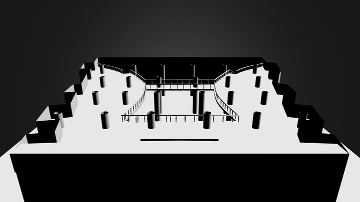 hall1 3D Model