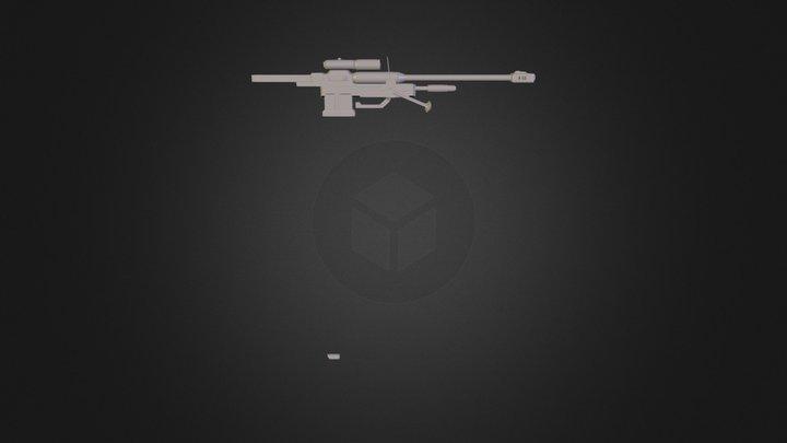 Halo3-50cal_Sniper_UNSC 3D Model