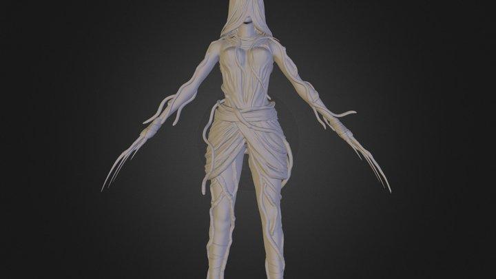 Forest Siren Hi Poly 3D Model
