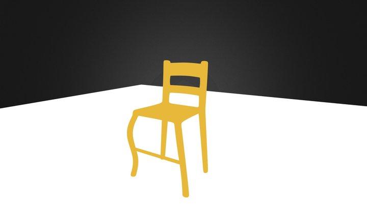 chair2.blend 3D Model