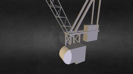 JBE Tower crane_Top.dwf 3D Model