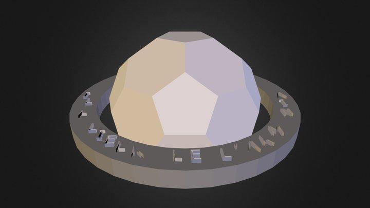 poliedro_UT.3ds 3D Model