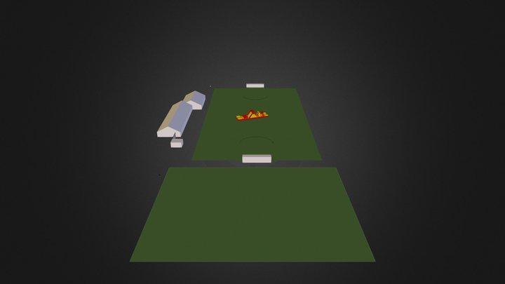 Meerkamp spellendag 3D Model