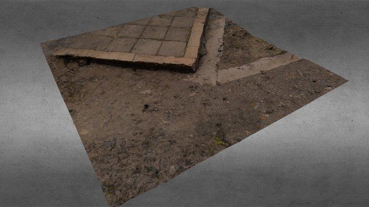 Porch Corner 3D Model