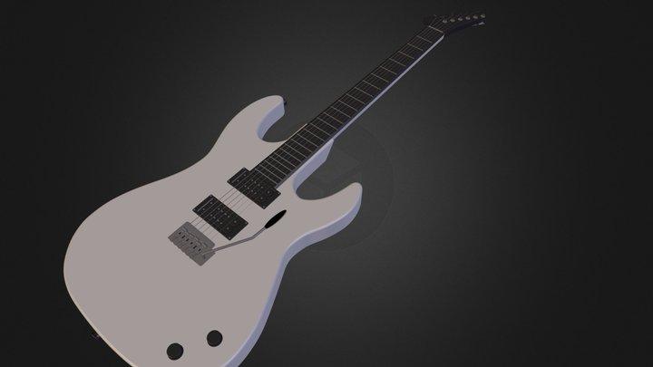 Guitar.blend 3D Model