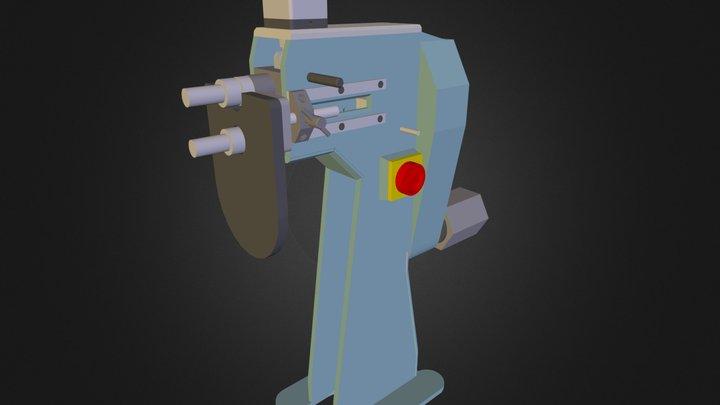 bordonadora 3D Model