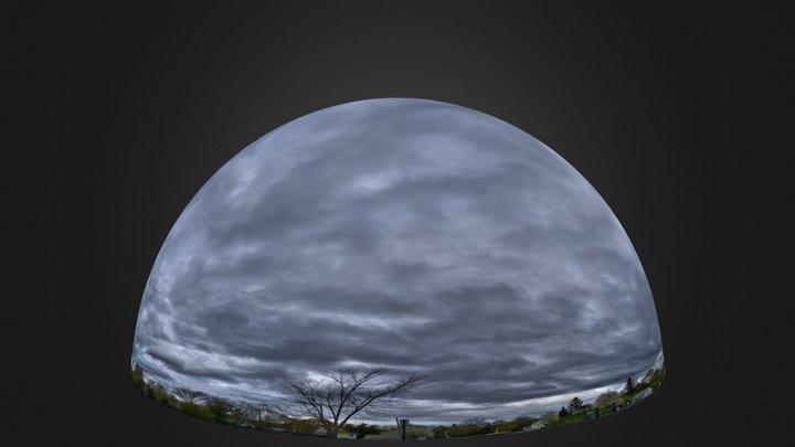 cloudy sky-blender internal3.blend 3D Model