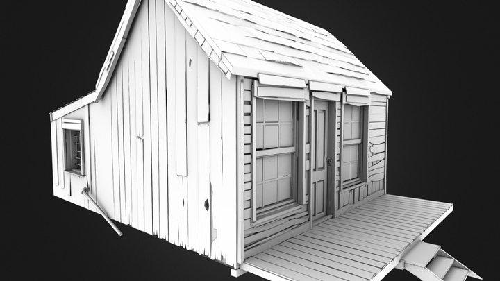 CowboyHouse 3D Model