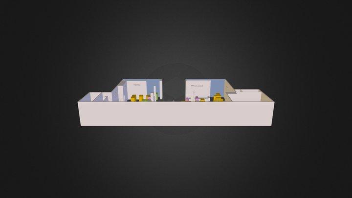 predajna.3ds 3D Model