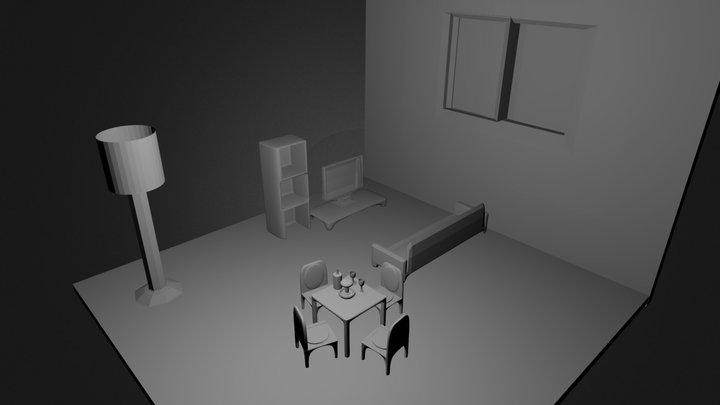 Sala De Estar 3D Model