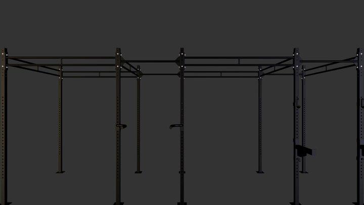 CROSSGYM cross station rack 600 3D Model
