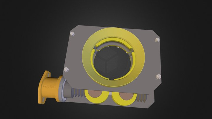 G14SB-With Guide Cone.dwf 3D Model