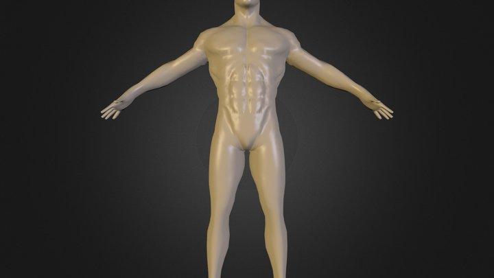 Bruce Lee_AA.blend 3D Model