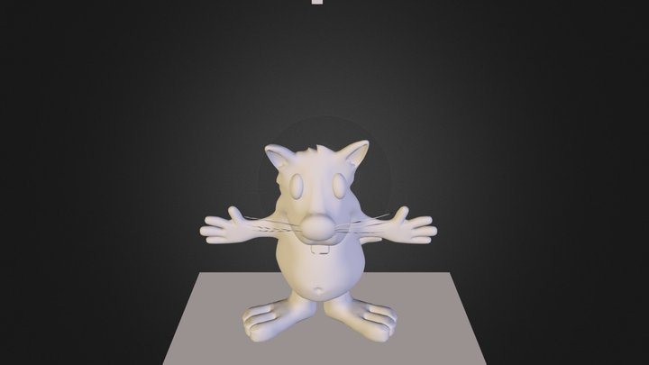 cartoon.obj 3D Model