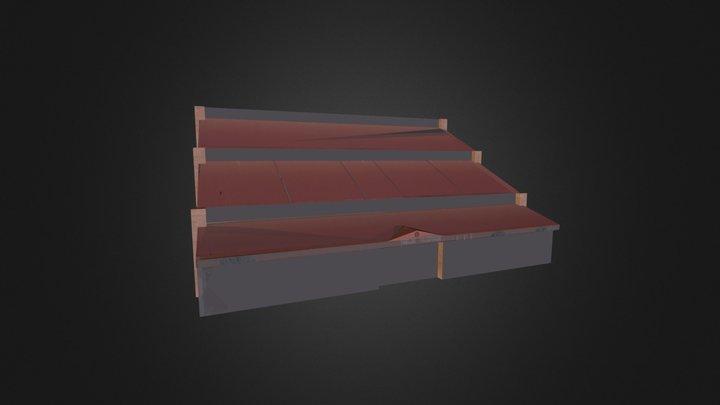 Pabellon Polideportivo de Cella 3D Model