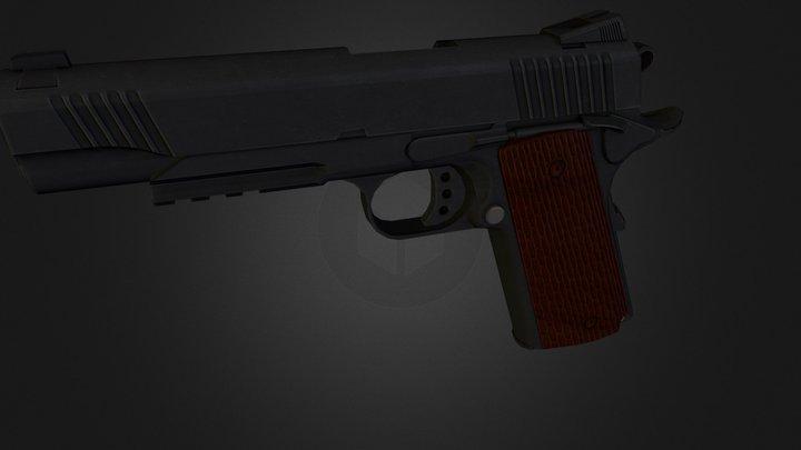 MARK II - M1911 3D Model