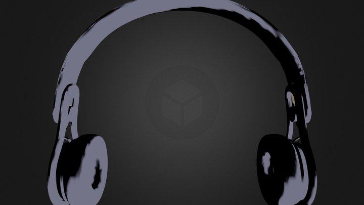BeatsMixrBlack.3DS 3D Model