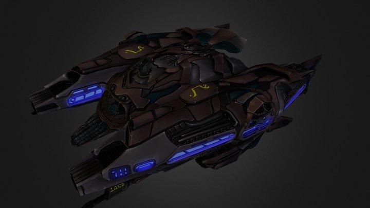 PVB Osiris 3D Model