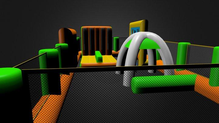 Village Volley 3D Model