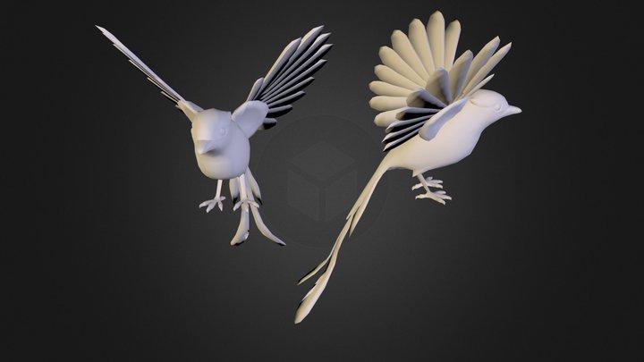 Birds.obj 3D Model