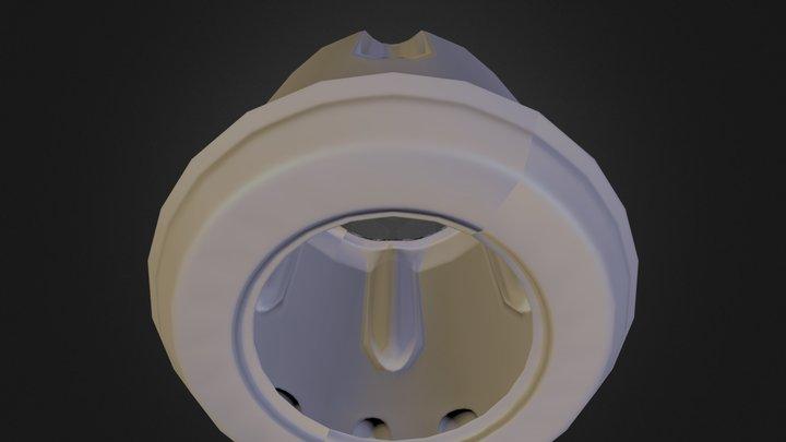 Revolver cylinder test 3D Model
