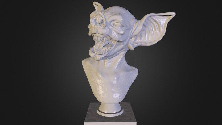 bat_creature_posed_v8_8in.stl 3D Model