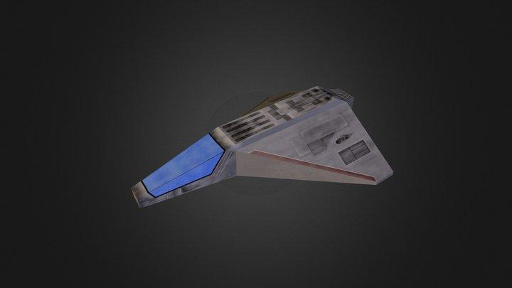 Simple Racer 3D Model