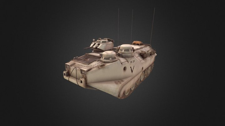 AAV7 3D Model