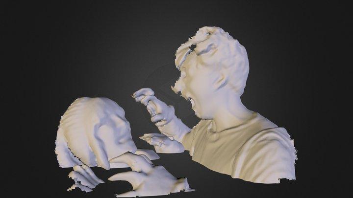 zombie attaccjk1.dae 3D Model