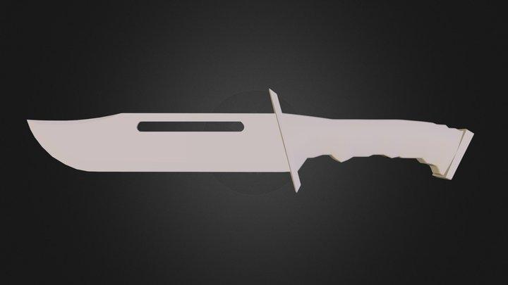 knife.3DS 3D Model