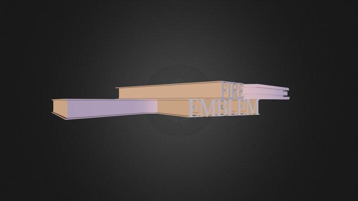 A12:3D logo with Text Spline and Sweep NURBS 3D Model