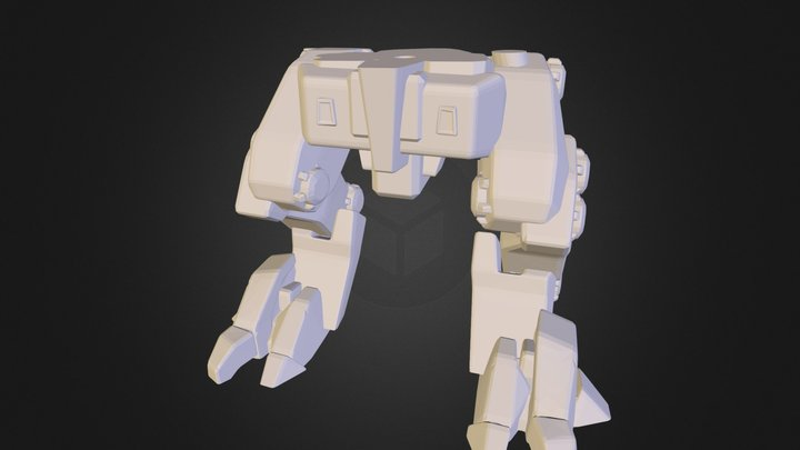 Legs.stl 3D Model