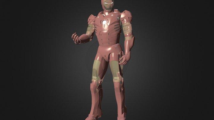 Iron_Man_Blender_Swap.blend 3D Model