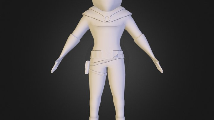 spacedude upload.obj 3D Model