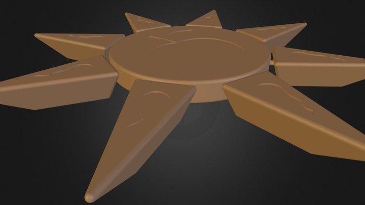 Trivet Sun 3D Model