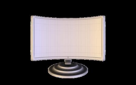 OLED TV 3DS.obj 3D Model