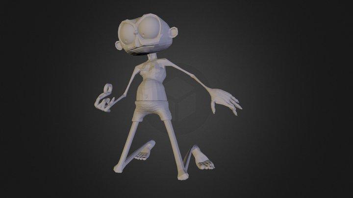 gollum 3D Model